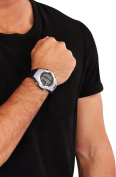 Smart Heart Rate Watch - Soft Silicone Band with Adjustable Strap - Built-In Pulse Sensor – by Utopia Fitness