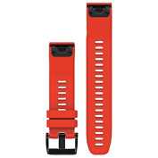 Garmin Fenix 5 Quick Fit Watch Band Flame Red 22mm