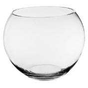 CYS® Glass Bubble Bowl, Fish Bowl Hand Blown Glass Vase, Body D-20cm