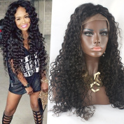 Zax Hair Lace Front Wig Curly Wave Cheap Glueless Full Lace Wigs For Black Women Brazilian Human Hair Lace Wig 130% Density Natural Colour
