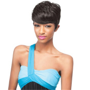 Fluffy Synthetic Short Straight Wig with Free Wig Cap
