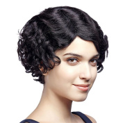 Premium Synthetic Short Curly Wigs for Women Have Breathable Rose Net with Adjustable Straps with Free Wig Cap and Comb Cosplay or Daily Wear
