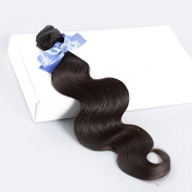 Hismile Hair Human Hair Weft Body Wave Hair Bundles Natural Colour Virgin Hair Extensions Full Hand 3 Bundles Hair Extensions Soft And Thick Hair Bundles 41cm