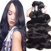 Hismile Hair Brazilian Human Hair Weft Body Wave 100% Hair Extensions Weft Weave Natural Colour 1 Bundles/Lot,100g Total Grade 8a Hair Bundles 41cm