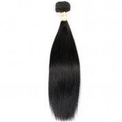 Brazilian Straight Hair 1 Bundle 70cm Virgin Hair Tangle Free 100% Unprocessed Human Hair Weaves 8-80cm Natural Colour Hair Extensions 100 gramme