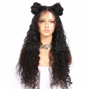 Zax Hair Cheap Glueless Full Lace Human Hair Wigs Brazilian Virgin Lace Front Wig Deep Curly 150% Density Natural Black