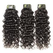 Aosun Beauty Brazilian Virgin Human Hair Italian Wave 3 Bundles Unprocessed Hair Extensions In Natural Colour (100+/-5g)/pc