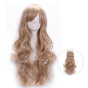 LightInTheBox Colour Long Curly Wig Heat Resistant Synthetic Cosplay Wig Full Wig for Women Party Wigs