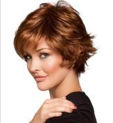 2017 Trendy European Hot Selling Heat Resistant Curly Short Hair Wigs