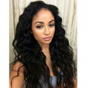TopFeeling Lace Front Human Hair Wigs Brazilian Virgin Hair Body Wave Wig For Black Women 130%Density Glueless Wig With Combs
