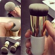 sumanee Pro Beauty Cosmetic Makeup Face Powder Brush Blush Brushes Foundation Tool White