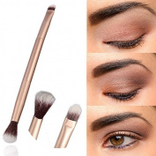 sumanee Beauty Makeup Eye Powder Foundation Eyeshadow Blending Double-Ended Brush Pen