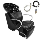 Shampoo Unit Estelle Backwash Unit with Faucet, Sink for Beauty Salon Styling