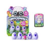 New! Hatchimals Colleggtibles - 4-Pack + Bonus AND Exclusive Hatchimals Lip Balm!!!