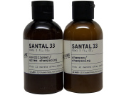 Le Labo Santal 33 Shampoo & Conditioner lot of 2 (1 of each) 90ml bottles.