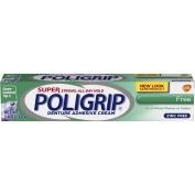 Super Poligrip Zinc Free Denture Adhesive Cream, 70ml Tubes