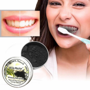 Euone Teeth Whitening Powder Natural Organic Activated Charcoal Bamboo Toothpaste (18 g)