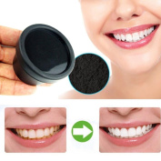 Euone NEW Natural Organic Activated Charcoal Bamboo Toothpaste Teeth Whitening Powder (25 g)