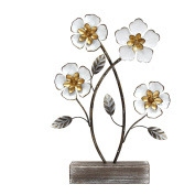 Daffodil Blooms Floral Table Top Decor