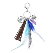 CHBC Dream Catcher Opal Stone Tassel Feathers Pendant Keyring Keychain Ornament Gift