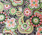 Type-A Bohemian National Cotton Fabric Sewing Quilting Fabric Handicraft Arts Cloth Green Fabric Materia Size 50x150cm
