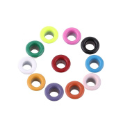 Scrapbooking Eyelets, 500Pcs Mixed Colours 3mm Round Shape Metal Eyelets Buckle for Card Making Craft Leather
