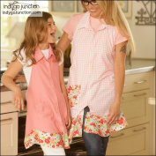 """INDYGO JUNCTION """"KITCHEN SHIRT TALES APRON"""" Sewing Pattern"""