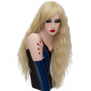 Long 70cm Curly Heat Resistant Lolita Fashion Harajuku Cosplay Wig + Wig Cap