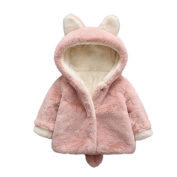 Vovotrade Baby Cloak Jacket Thick Warm Clothes Infant Girls Boys Autumn Winter Hooded Coat