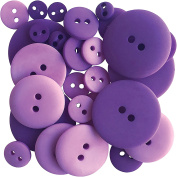 Button Up! Smoothie Pack Buttons-Professor Plum