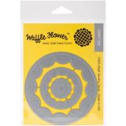 Waffle Flower Die-Flower Circles Inverted