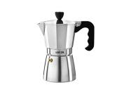La Cafetiere ES000002 Stovetop Espresso, 6-Cup, Silver