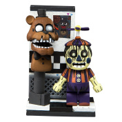 McFarlane Toys Five Nights At Freddy's Office Hallway Micro Construction Set