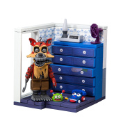 McFarlane Toys Five Nights At Freddy's Left Dresser and Door Small Construction Set