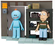 McFarlane Toys Rick and Morty Smith Garage Rack Small Construction Toy-Interlocking-Building-Sets