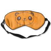 C-JOY Panda Fashionable Eye Shade Patch Sleeping Eye Mask Cover For Men Women Kids White