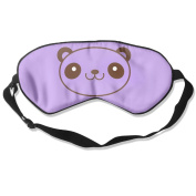 C-JOY Panda Adjustable Eye Shade Patch Sleeping Eye Mask Cover For Men Women Kids White