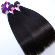 Qingdao Ocean Star 3 Bundles Hair Weft Brazilian Vrigin Remy Human Hair Weave Grade 8a Straight Hair Extensions