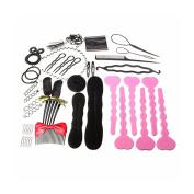 Frcolor Hair Design Styling Accessory Kit Set Hair Braider for DIY
