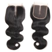 Ossilee Hair Brazilian Virgin Hair Body Wave Lace Closure 4×4 Lace Closure Body Wave 8A Unprocessed Human Hair