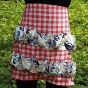 Hense Apron with 12 Pockets, Perfect for Farmer House-hold Clever Housewife Must Have Apron