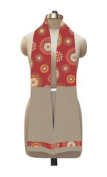 Kitchen Towel Boa (Red Floral)