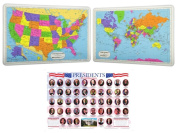 Painless Learning Laminated Educational Placemats for Kids