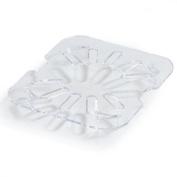 Carlisle 3068907 StorPlus Sixth Size Polycarbonate Drain Shelf, Clear