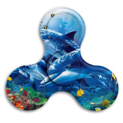 The Underwater World Relief Stress Rotating Gyro Toy Between Finger For Adults And Children