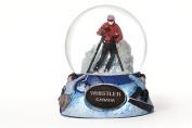 Ski Whistler Canada Snow Globe 65mm