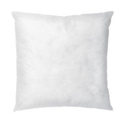 IZO All Supply Square Sham Stuffer Hypo-Allergenic Poly Pillow Form Insert, 46cm L x 46cm W