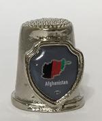 "Country ""Afghanistan"" Souvenir Thimble"