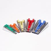 HONEYSEW Bias Tape Maker Set 6MM/9MM/12MM/18MM/25MM 5 sizes DIY Quilting Tools Kit