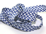 Gingham Cotton Bias Binding Tape - per 3 metres